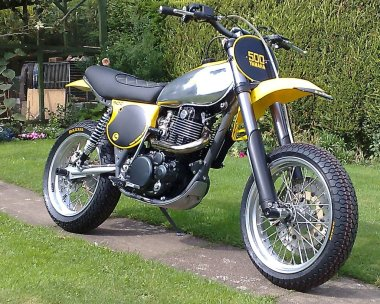 Yamaha XT 500 Supermotard