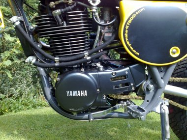 XT 500 Motor