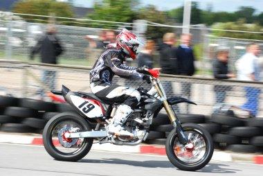 Supermotard Practise Vojens Denmark 2009