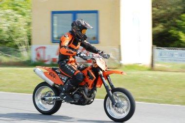 Orange KTM SM