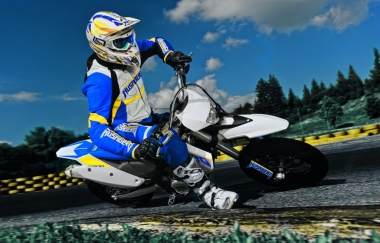 Action Husaberg 2010 FS570 Sumo