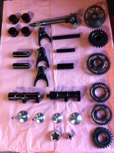 Suzuki RMZ 2011 racing parts