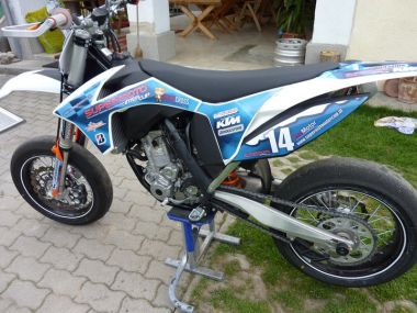 KTM 350cc Supermoto Power