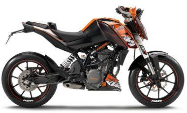 KTM DUKE 125 Motorcycle