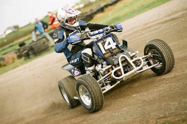 Justin Reid the ultimate Quad Racer